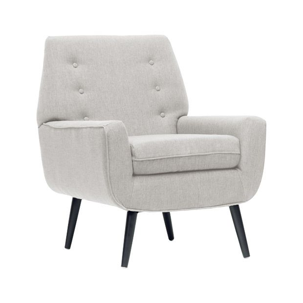 Levison Beige Linen Modern Accent Chair For The Best Deal Price Of Affordable Furniture In Chicago