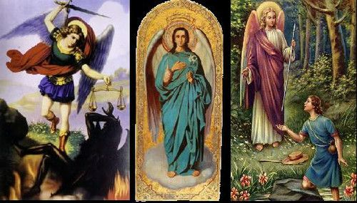 ♣* Las Rutas de Angélica *♣*: Hoy es Día de los Arcángeles ...