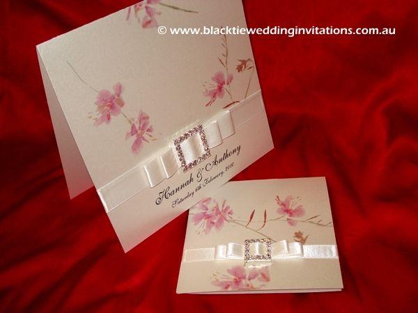 boda de la floración en colores pastel invitación