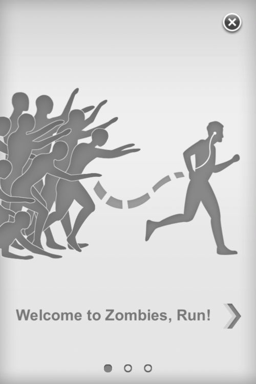 WALKING DEAD WORKOUT: GREATEST IDEA EVER!!! The Zombie Run work out- as you run it tells you a story about the zombies running after you, it will mix the story with your music, and it will force you to speed up when the zombies begin to chase you. -- BAHAHA this is great :)