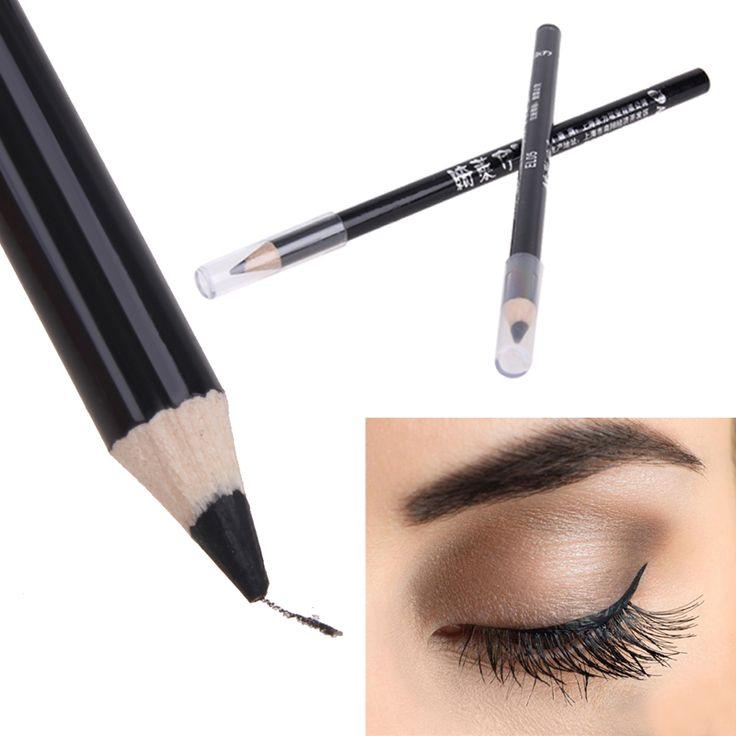 High Quality Black Eye Liner Smooth Waterproof Cosmetic Makeup Eyeliner Pencil best quality eyeliner to eye permanent