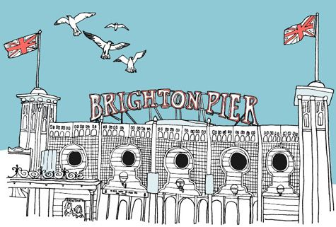 Design*Sponge Guide to Brighton, UK #brighton #unitedkingdom #travel #cityguide
