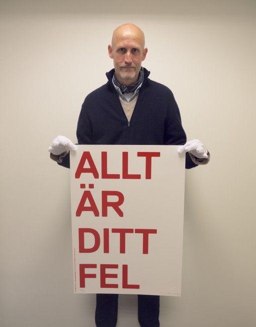 Allt är ditt fel by Lars Fuhre