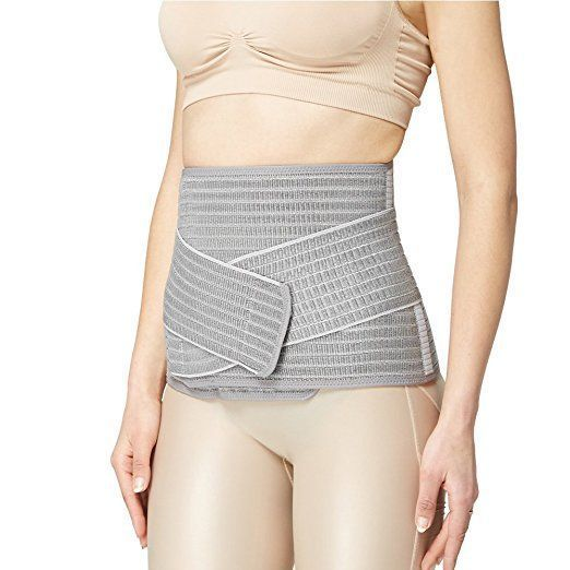 Mamaway Nano Bamboo Postnatal Recovery Support Belly Band, Waist Trimmer Belt, Postpartum Pelvis Recovery Support Girdle for Post Pregnancy, After Birth, Flatten Tummy, Weight Loss Slimmer-XL #weightlossafterbirth, #afterpregnancybelt,