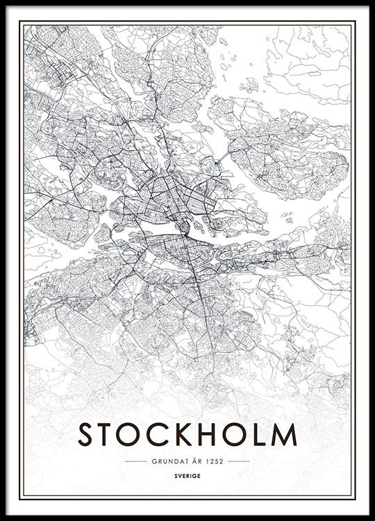 17 best images about poster map on pinterest poster maps and black and white poster with a map of stockholm a nice poster that fits a cleanly designed decor both modern and vintage you can find more stylish posters gumiabroncs Image collections