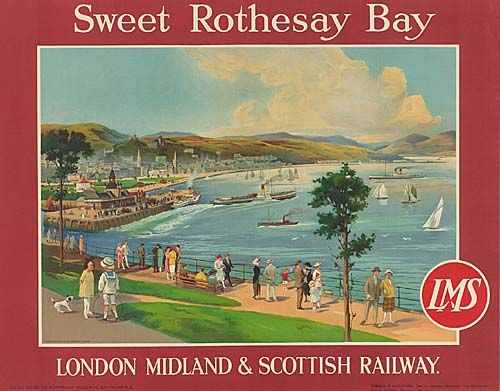Sweet Rothesay Bay - LMS - 1923 -