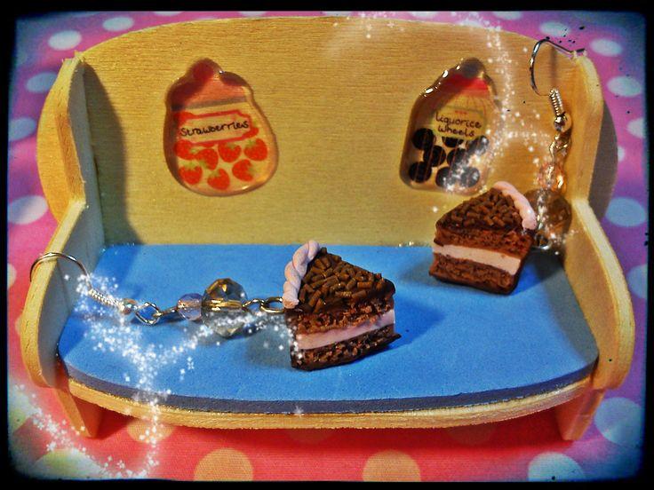 chocolate- strawberry cake