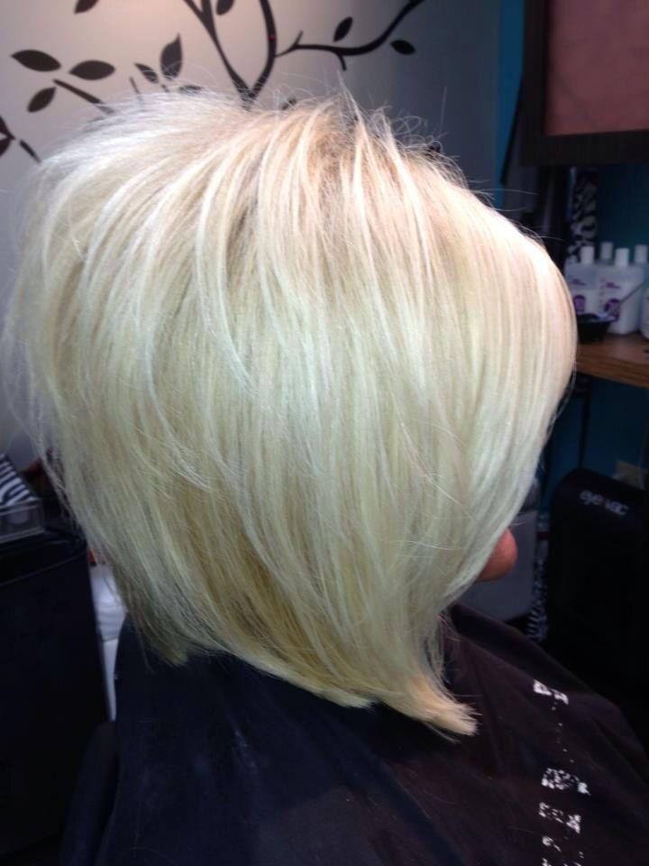 Short Hair Styles , 7 Beautiful Inverted Stacked Bob Hairstyle Pics : Inverted Stacked Bob