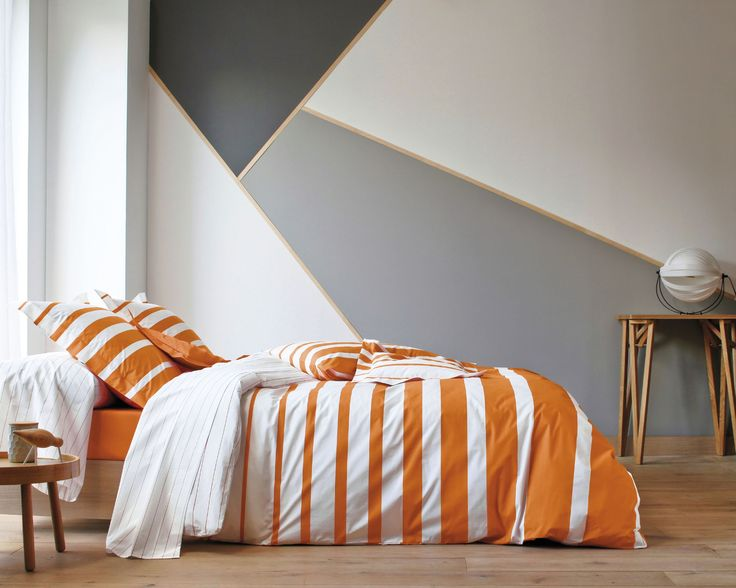 17 meilleures id es propos de couette orange sur. Black Bedroom Furniture Sets. Home Design Ideas