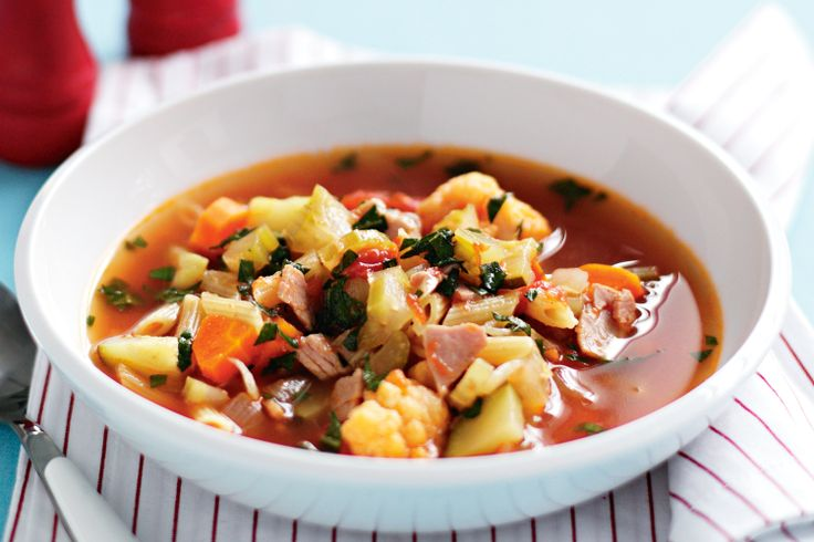 A warming and delicious cool weather soup, this hearty vegetable soup will leave you feeling souper!