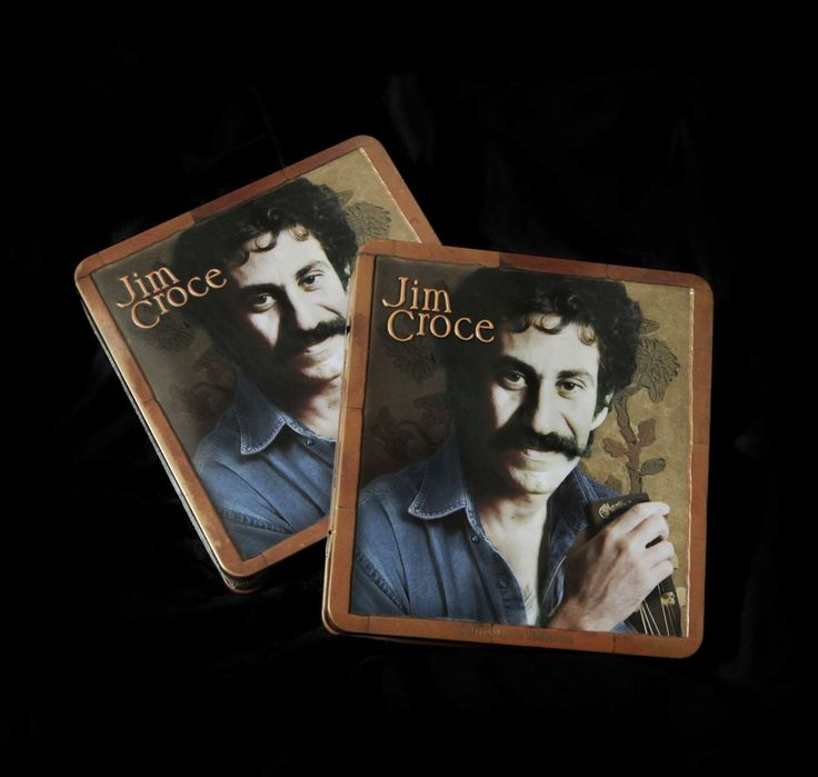 """NEW! 35th Anniversary Jim Croce Collector's Edition Tin. Jim Croce Madacy Tin, includes Have You Heard Jim Croce Live - DVD, """"Bad, Bad, Leroy Brown"""" CD and """"Americana: Home Recordings"""" CD.   Includes unlimited streaming of Jim Croce: Home Recordings via the free Bandcamp app, plus high-quality download in MP3, FLAC and more. Buy now or send as a gift for $20."""