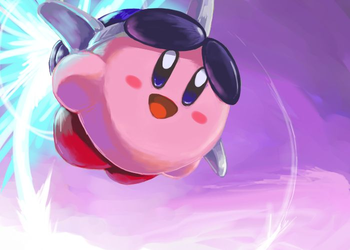 Kirbys Air Ride Fan ArtGamer Riding Art Favorite Things