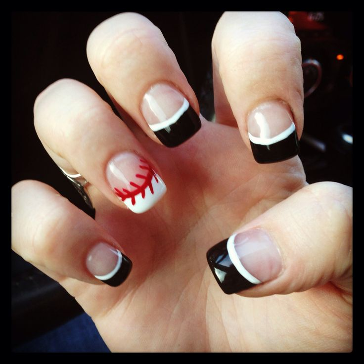 25 beautiful baseball nail designs ideas on pinterest softball here are 10 cute baseball nail art ideas nails stylebistro prinsesfo Images