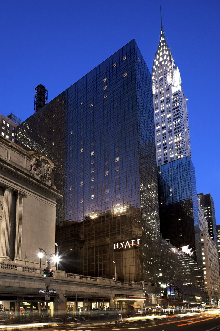 Grand Hyatt, between Grand Central and the Chrysler Building on 42nd  Street ...