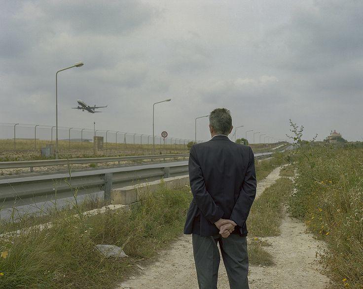 """Artista: David Jackson, """"Mediterraneo (XII)"""", del proyecto """"Tan azul tan hermoso"""", fotografía digital impresa  a color, 2011."""