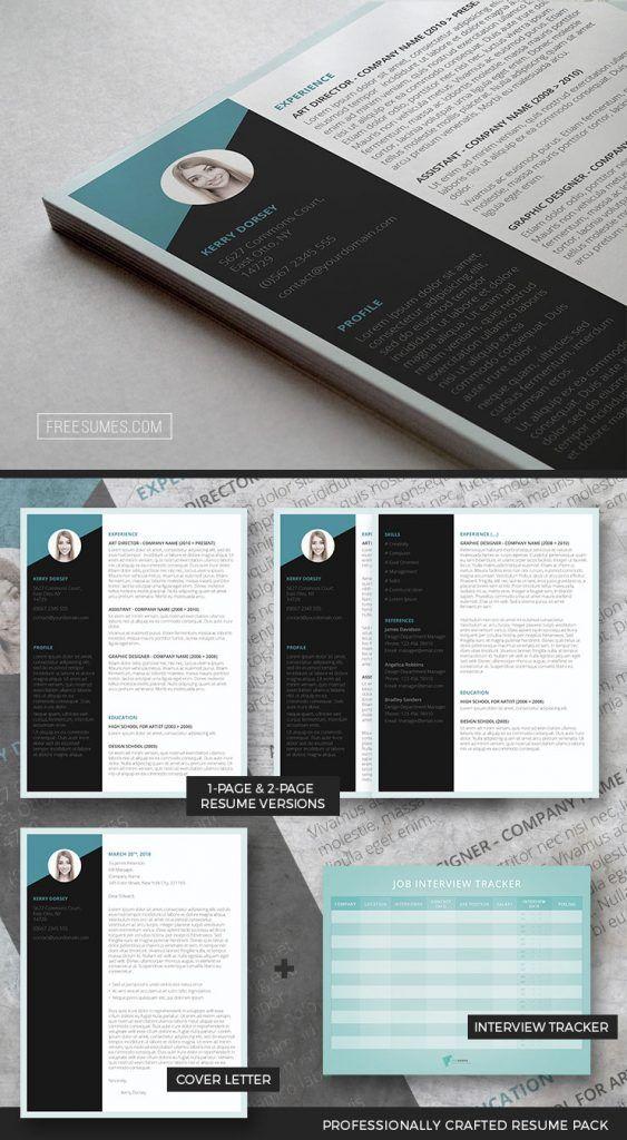 Job-Winning Resume Pack Premium Resume Packages Pinterest
