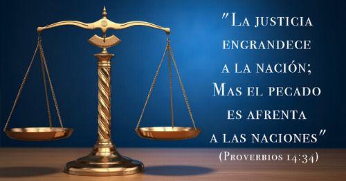 Una nación que respeta los principios morales de la Biblia será una sociedad justa y próspera. Pero ¡qué difícil es encontrar una nación así en el día de hoy!. #mensajededios2 #oroporti