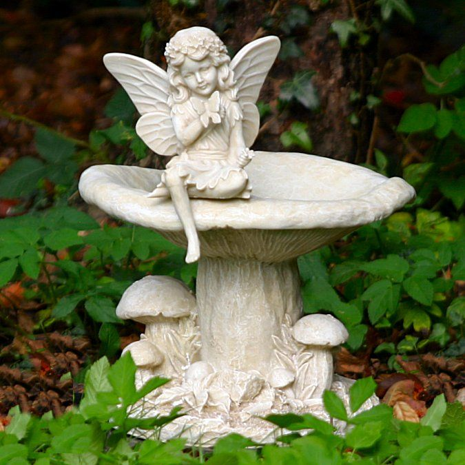 17 best images about garden ornaments angels fairies. Black Bedroom Furniture Sets. Home Design Ideas