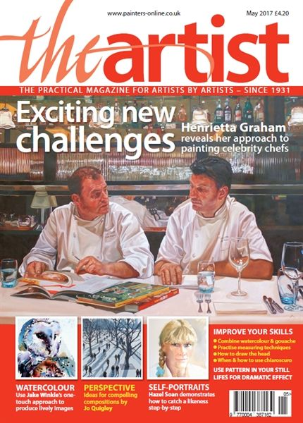 May 2017 The Artist. Buy online, http://www.painters-online.co.uk/