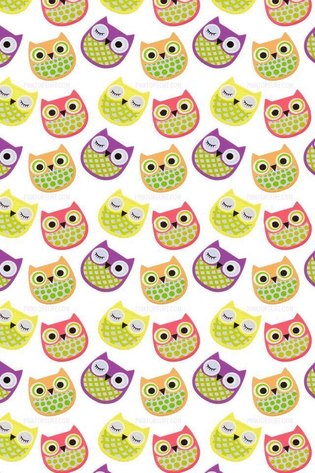 owl wallpaper on Pinterest | Owl Patterns, Owl Felt and Fabric ...