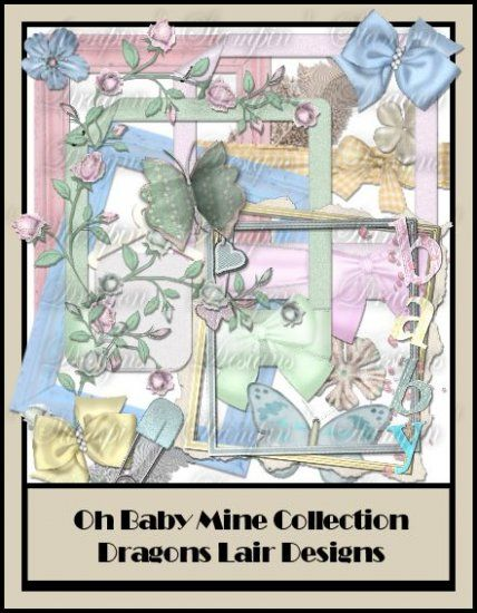 Oh Baby Mine Collection - Element Pack