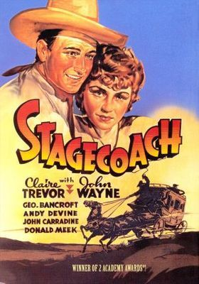 Stagecoach (1939) movie #poster, #tshirt, #mousepad, #movieposters2