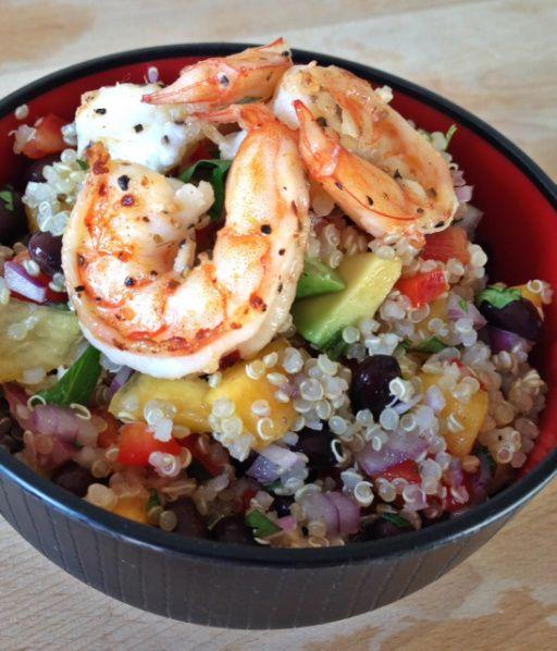 Quinoa Salad with Lemon Vinaigrette | Nom nom nom | Pinterest
