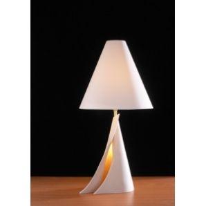 David Hunt OPH4334 Ophelia 2 Light Modern Table Lamp Stone Finish