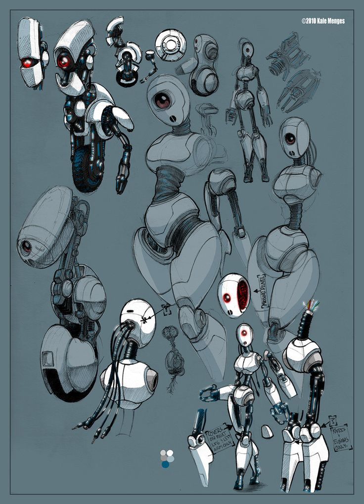 COOL ROBOT  ★ || CHARACTER DESIGN REFERENCES™ (https://www.facebook.com/CharacterDesignReferences & https://www.pinterest.com/characterdesigh) • Love Character Design? Join the #CDChallenge (link→ https://www.facebook.com/groups/CharacterDesignChallenge) Share your unique vision of a theme, promote your art in a community of over 50.000 artists! || ★