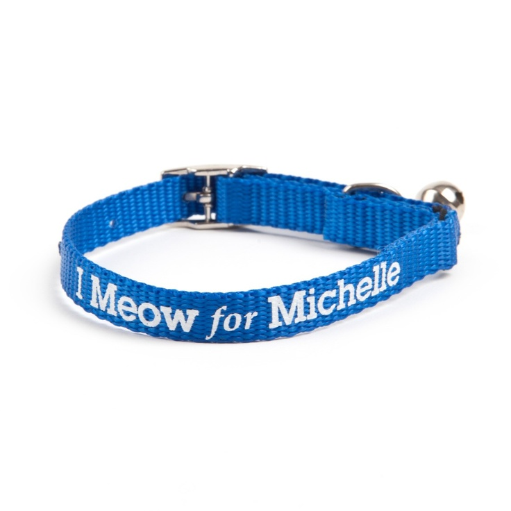 I Meow for Michelle Cat Collar--Supports Obama's campaignObama Campaigns, Obama 2012, Meow, Barry Obama, Michelle Cat, Michelle Obama, Shops Obama