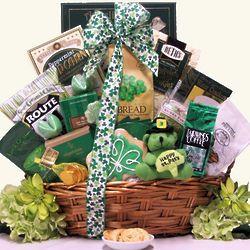 8 best basket ideas irish images on pinterest the irish gift luck o the irish large st patricks day gourmet gift basket negle Images