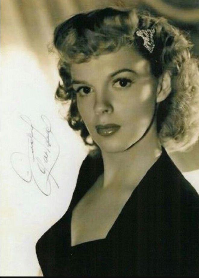 Judy Garland............