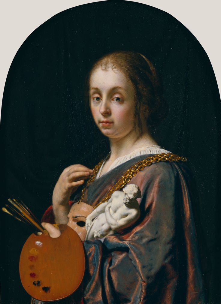 63 best hat tip images on pinterest oil on canvas oil paintings pictura an allegory of painting 1661 frans van mieris the elder publicscrutiny Choice Image