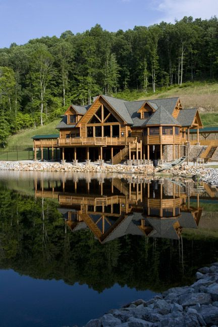 Wayne, WV Home by Wisconsin Log Homes