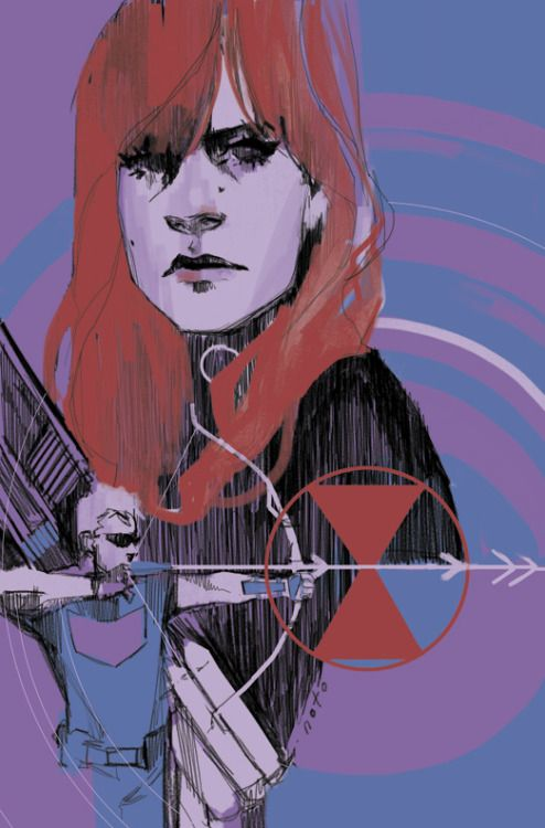 """philnoto: """" Black Widow #10 cover """""""