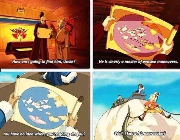 The whole first season basically happened because Aang wanted to see a bunch of random crap... it was awesome! :)