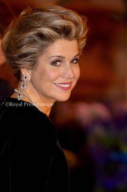 Queen Maxima in France.
