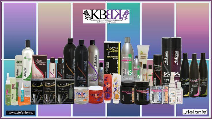 Te presentamos la familia de productos CAPILARES  Y TR ATAMIENTOS  que manejamos en PRODUCTOS STEFANIE