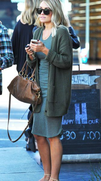 Get the look: Lauren Conrad's perfectly slouchy cardigan