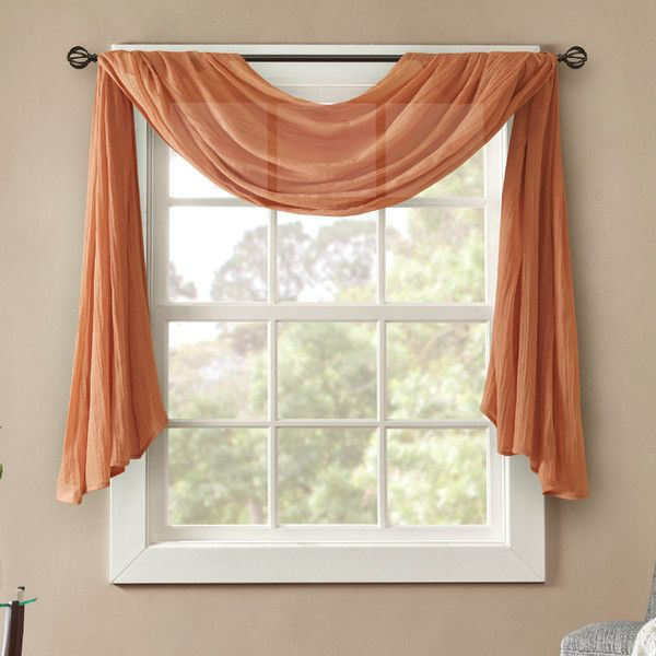 Best 25 Window Scarf Ideas On Pinterest Curtain Scarf