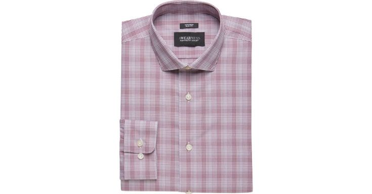 Buy a Awearness Kenneth Cole Burgundy Plaid Slim Fit Dress Shirt online at Men's Wearhouse. See the latest styles of men's Slim Fit. FREE Shipping on orders $99+.
