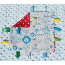 Fun Animals Taggie Blanket