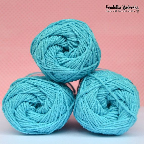 Kacenka  soft cotton/acrylic yarn for crochet and knitting
