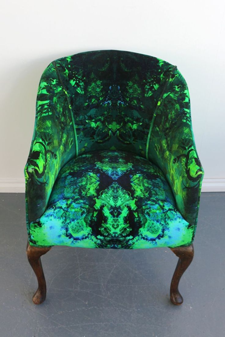 Furniture  Timorous Beasties  cafe armchair