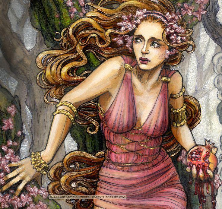 Dread Queen Persephone - Legendary Olympian Death Creature