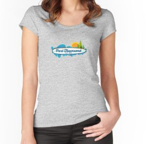 Port Townsend Women's Fitted Scoop T-Shirt