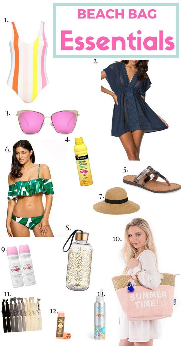 8 Items That Can Not Miss in Your Bag in the Summer