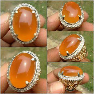 Chalcedony Orange Raflesia Bengkulu