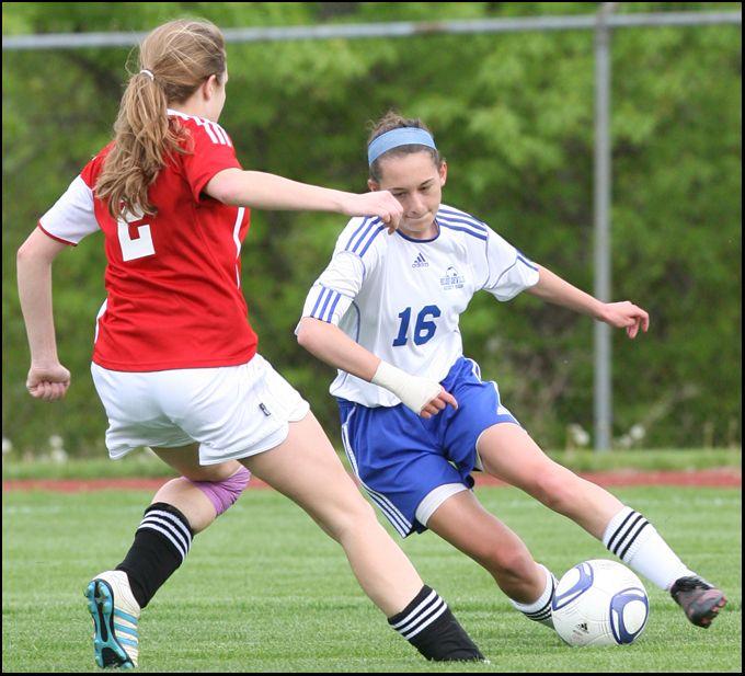 college girl soccer player strip
