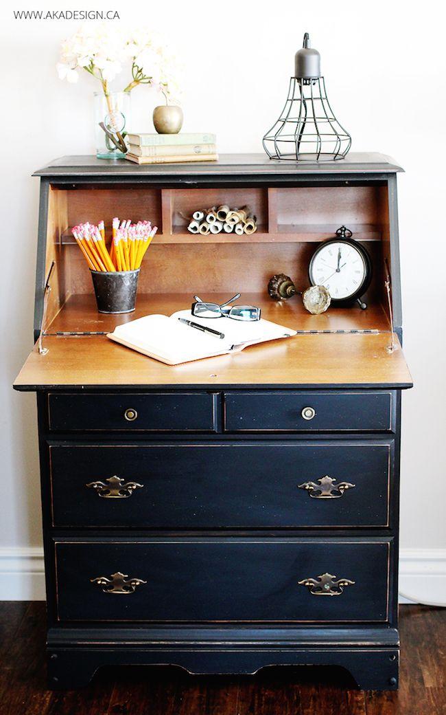 Renovated Farmhouse Secretary Desk